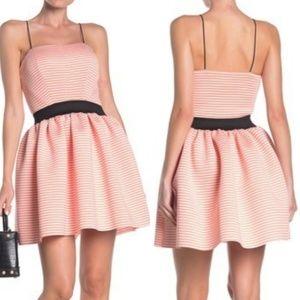 Love...Ady Dress Fit & Flare Striped L